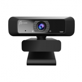 J5create JVCU100 USB Full HD Webcam with 1080p/30 FPS (JVCU100)