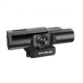 AVerMedia Live Streamer Cam 513 4K UHD Webcam, 4Kp30, 8 Megapixels, Fixed Focus F2.8, Diagonal 94  Zoom Certified. PW513