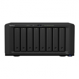 """Synology DiskStation DS1821+ 8-Bay 3.5"""" Diskless 4xGbE NAS (Tower) , AMD Ryzen Quad Core 2.2GHz,4GB RAM,4xUSB3.2, 2x eSATA, Scalable.3 year Wty (DS1821+)"""