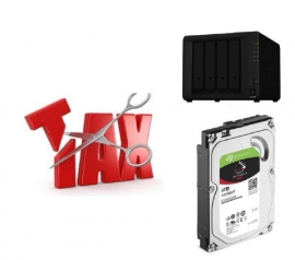 Synology Tax Saver - DS420+ + 4 x Seagate 4TB IronWolf Hard Drives Ds420+ Seagate 4Tb Iwn