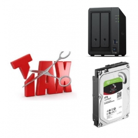 Synology Tax Saver - DS720+ + 2 x Seagate 4TB IronWolf Hard Drives Ds720+ Seagate 4Tb Iwn