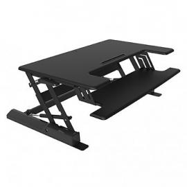 Visionmounts Height Adjustable Sitting/ Standing Desktop Black (load Up To 15kg) Vm-desk-ld02