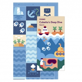 Primo Toys Adventure Pack Map And Story Book Ocean Primo009a-en
