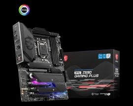 MSI MPG Z590 GAMING PLUS Intel ATX Motherboard (MPG Z590 GAMING PLUS)