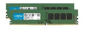 Crucial 32Gb (2X16Gb) Ddr4 Udimm 2400Mhz Cl17 Dr X8 Dual Channel Desktop Pc Memory Ram Ct2K16G4Dfd824A