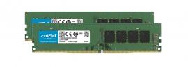 Crucial 32Gb (2X16Gb) Ddr4 Udimm 3200Mhz Cl22 Dr X8 Dual Channel Desktop Pc Memory Ram Ct2K16G4Dfd832A