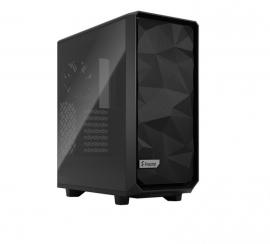 Fractal Design FD-C-MES2C-03 Mid Tower: Design Meshify 2 Compact BLACK TG Light Tint, 1x USB 3.1 Gen 2 Type-C,