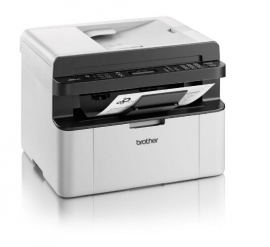 Brother Mono Laser Multifunction, Print/ Scan/ Copy, Fax, 20ppm, Adf Mfc-1810