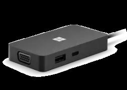 Microsoft USB-C TRAVEL HUB XZ/ZH/KO/TH HDWR BLACK Swv-00005
