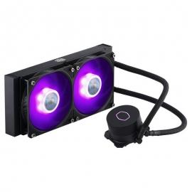 Cooler Master MasterLiquid-ML240L-V2-RGB Liquid CPU Cooler: 240mm Radiator,