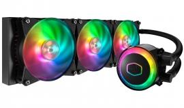 Coolermaster Masterliquid Ml360R Rgb Cpu Cooler Rgb Wb 3X120Mm Rgb Fan 360Mm Radiator Mlx-D36M-A20Pc-R1