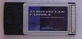Minitar Mnw2bpcm 802.11b Cardbus Pcmcia Wireless Adapter