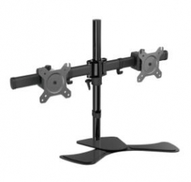 """Visionmount Mp320s-ex - Free Standing Dual Lcd Monitors Support Up To 27"""", Tilt -15/+15, Rotate"""