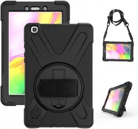 Universal Rugged Black Case for Samsung Galaxy Tab A 8.0