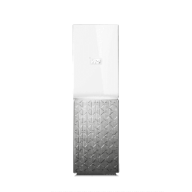 Western Digital  MY CLOUD HOME 4TB - WHITE SILVER (WDBVXC0040HWT-SESN)