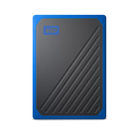 WD MY PASSPORT GO PORTABLE SSD 2TB USB 3.0 SPEEDS UP TO 400 MB/S WDBMCG0020BYT-WESN
