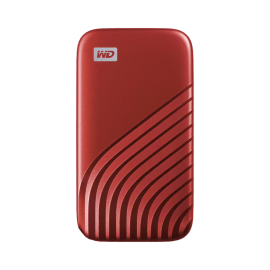 WD My Passport SSD, 500GB, Red color, USB 3.2 Gen-2, Type C & Type A compatible, 1050MB/s (Read) and 1000MB/s (Write) WDBAGF5000ARD-WESN