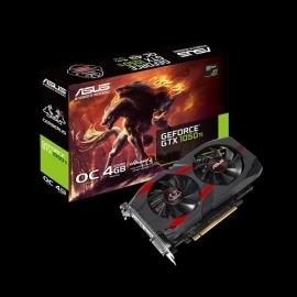 Asus Cerberus GeForce® GTX 1050 Ti OC Edition 4GB GDDR5 Graphics Card Cerberus-Gtx1050Ti-O4G