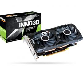 INNO3 NVIDIA, GTX 1660 Super, Twin X2, 1785MHz, 6GB GDDR6, 3xDP, 1xHDMI, ATX, 2xFans, 450W, 3 Years Warranty N166SK-06D6