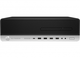 Hp ELITEDESK 800 G5 SMALL FORM FACTOR I5-9500 8GB DDR4-2666 512GB PCIE-SSD DVDRW RJ45 GB-LAN DP KB AND MOUSE WINDOWS 10 PRO 3/3/3 YEAR WARRANTY 8Mm35Pa