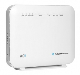 Netcomm Vdsl/adsl Wireless Dual Band Router Nbn Compliant Nf18acv