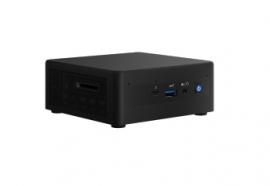 "Intel RNUC11PAHI7 Mini PC Barebone : Panther Canyon i7-1165G7, DDR4(0/2), M.2(0/1), 2.5""(0/1), Iris Xe Graphics,"