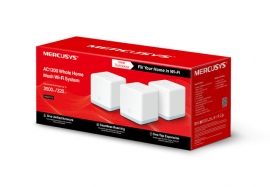 Mercusys Halo S12(3-Pack) Ac1200 Whole Home Mesh Wi-Fi System Halo S12(3-Pack)