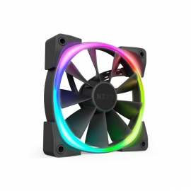 Nzxt 140mm Aer Rgb 2 Pwm 1500rpm Fan Nzt-hf-28140-b1