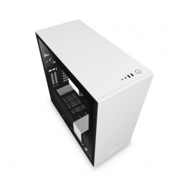 NZXT Matte White H710I Mid Tower Chassis Nzt-Ca-H710I-W1