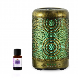 Mbeat Activiva Metal Essential Oil And Aroma Diffuser-Vintage Gold -100Ml Aca-Ad-S1
