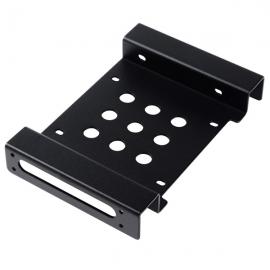 "Orico Black Aluminium Ac52535-1s 5.25"" To 3.5"" & 2.5"" Bay Converter Orc-ac52535-1s-bk"