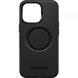 OtterBox Apple iPhone 13 Pro Otter + Pop Symmetry Series Antimicrobial Case - Black (77-83543)