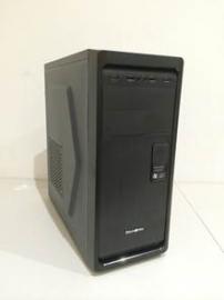 Tsunami P43 Black Mid Tower Case: ATX / Micro-ATX Black color With 600W PSU (P43 Black)