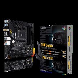 Asus TUF GAMING B550M-PLUS WIFI MB B550 Micro-ATX: AM4 Socket for 3rd Gen AMD Ryzen™ Processors 4x DDR4,