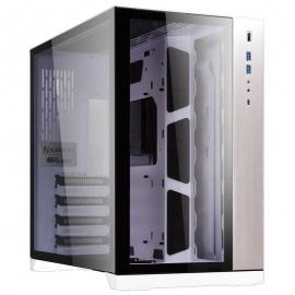 Lian-Li PC-O11DW-White Full-Tower Case: PC-O11 Dynamic - White 2x USB 3.0, 1x USB Type-C,