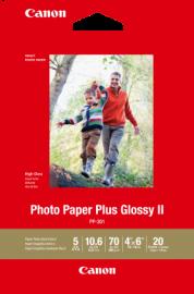 Canon 20 Sheets 265 GSM Photo Paper Plus Glos. Pp3014X6-20
