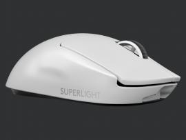 LOGITECH PRO X SUPERLIGHT WIRELESS GAMING MOUSE 16K DPI SENSOR - 2YR WTY - WHITE 910-005944