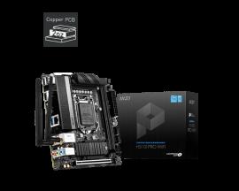 MSI H510I PRO WIFI Motherboard Supports 10th Gen Intel Core, 11th Gen Intel Core, Pentium Gold and Celeron processors for LGA 1200 socket