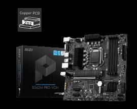 MSI B560M PRO-VDH Motherboard Supports 10th Gen Intel Core, 11th Gen Intel Core, Pentium Gold and Celeron processors for LGA 1200 socket