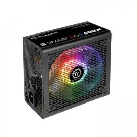 Thermaltake Power Supply: Smart RGB 600W 80+, 6*SATA 3*MOLEX 2*PCI-E (6+2) ATX PSU (PS-SPR-0600NHSAWA-1)