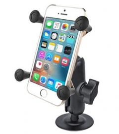 Ram Mounts Ram Flex Adhesive Mount With Universal X-grip Cell Phone Cradle Rap-b-378-un7