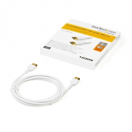Startech 2m Premium Certified HDMI 2.0 Cable with Ethernet (RHDMM2MPW)