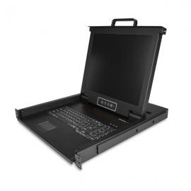 Startech Single Port Rackmount Kvm Console - 17 Inch Display - 1U Vga Kvm Console Rkcons1701