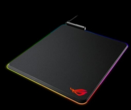 Asus Rog Balteus Gaming Mouse Pad (Nh02) 15-Zone Aura Sync Portrait Hard Surface Usb Passthrough