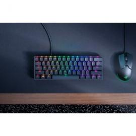 Razer Huntsman Mini-60% Optical Gaming Keyboard (Clicky Purple Switch)-FRML Packaging (RZ03-03390100-R3M1)