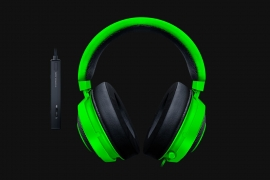 Razer Kraken Tournament Edition - Wired Gaming Headset With Usb Audio Controller - Green - Frml