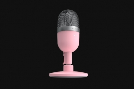 Razer Seiren Mini - Ultra-Compact Condenser Microphone - Quartz - FRML Packaging (RZ19-03450200-R3M1)