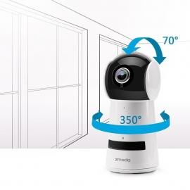 Zmodo Wireless 1080P Pan Tilt Smart Hd Wifi Ip Two-Way Audio Camera Night Vision Zmsdh2001A