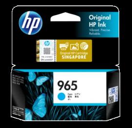 HP 965 Cyan Original Ink Cartridge 3JA77AA