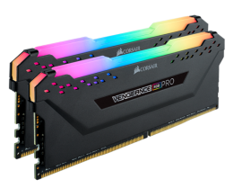 Corsair Vengeance RGB PRO DDR4, 3600MHz 32GB 2 x 288 DIMM, Unbuffered, CMW32GX4M2D3600C18